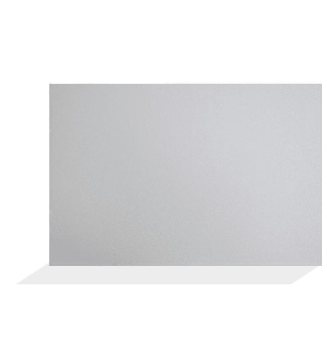 Aluco metallihopea/musta 500x3050mm sisustus- ja välitilalevy