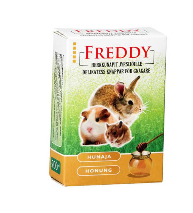 Freddy hunaja 200 ml jyrsijän herkkunapit