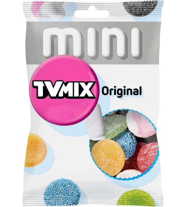 Malaco TV Mix Original 110 g karkkipussi