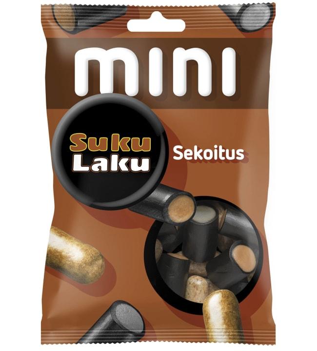 Malaco Mini Sukulaku sekoitus 110 g karkkipussi