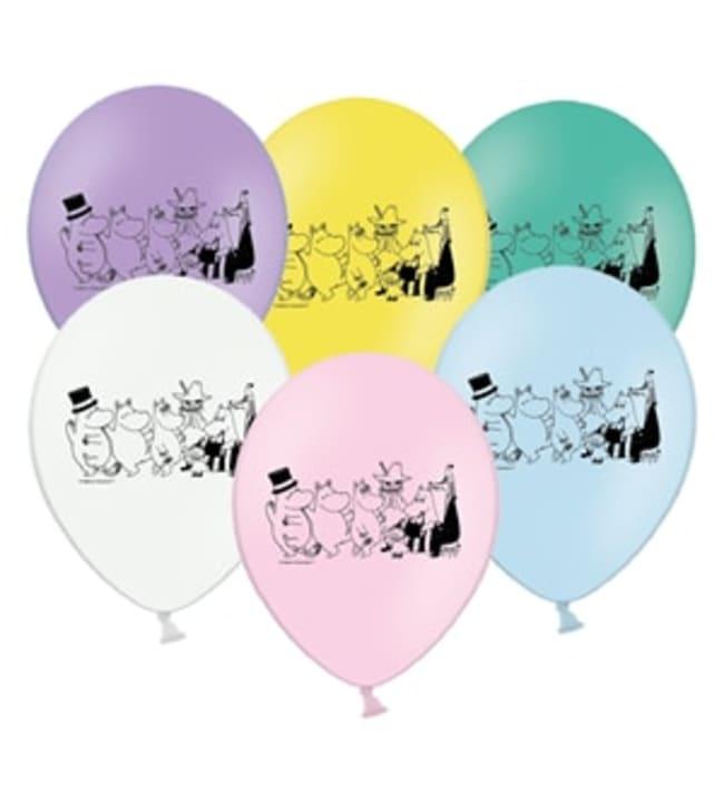 Muumi ja ystävät 6 kpl ilmapallo