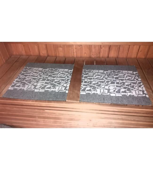 Alajärven Kotitekstiili Kaarna musta 43x50 cm pefletti