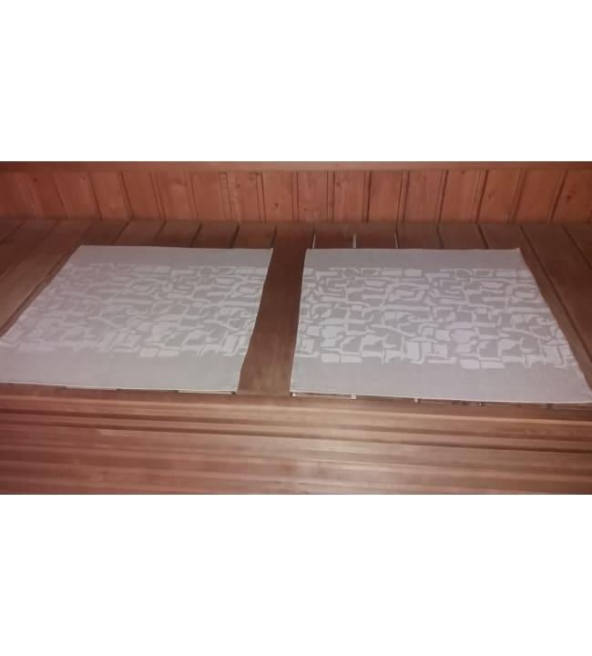 Alajärven Kotitekstiili Kaarna pellava 43x50 cm pefletti