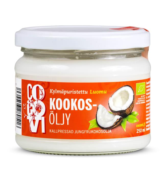 CocoVi Luomu kylmäpuristettu 250 ml Kookosöljy