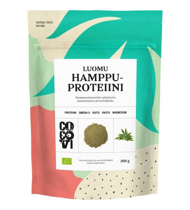 CocoVi luomu Hamppuproteiini 300 g jauhe