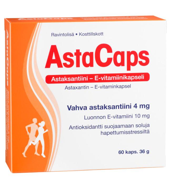 AstaCaps 60 kaps. ravintolisä