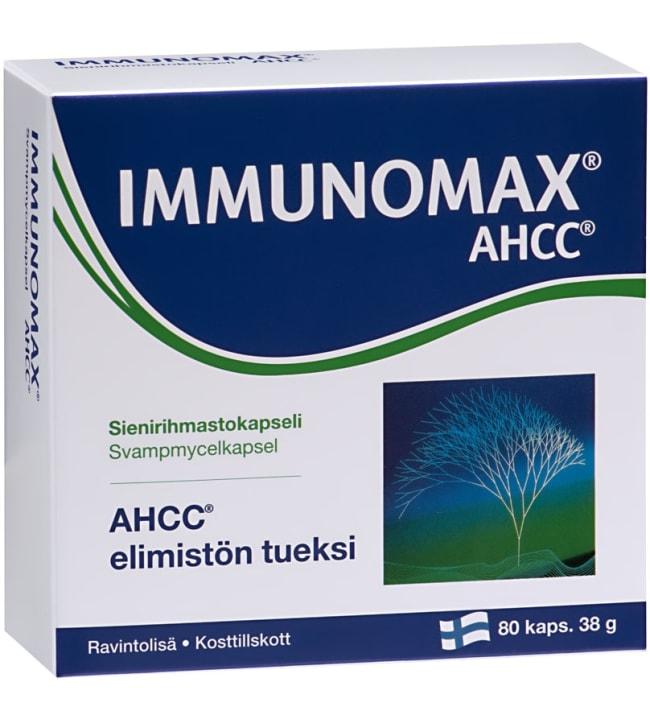 Immunomax AHCC 80 tabl. ravintolisä