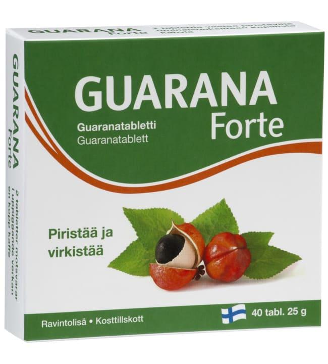 Guarana Forte 40 tabl. ravintolisä