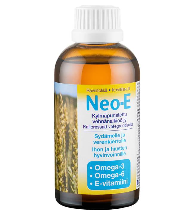 Neo-E 200 ml kylmäpuristettu vehnänalkioöljy
