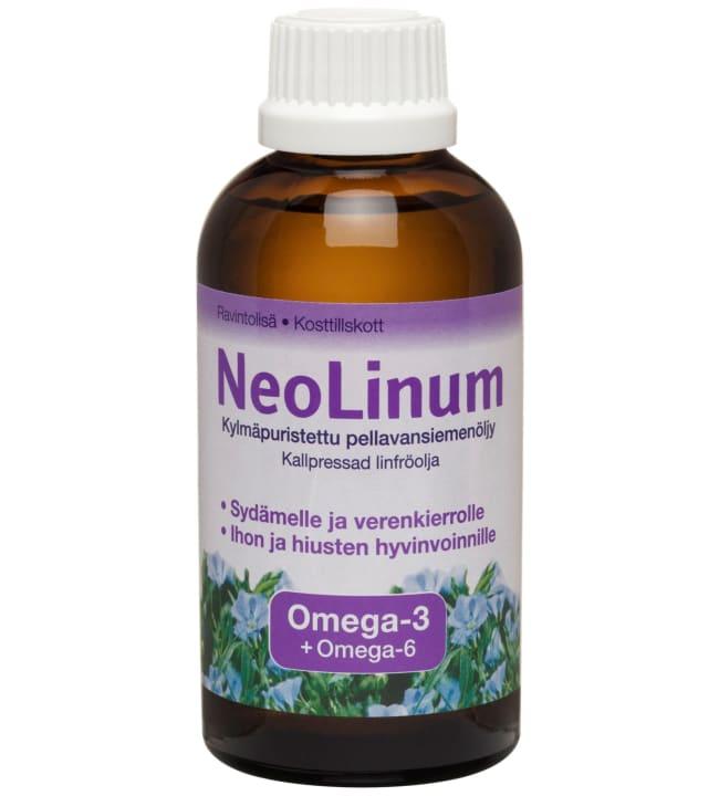 Neo-Linum 200 ml pellavansiemenöljy