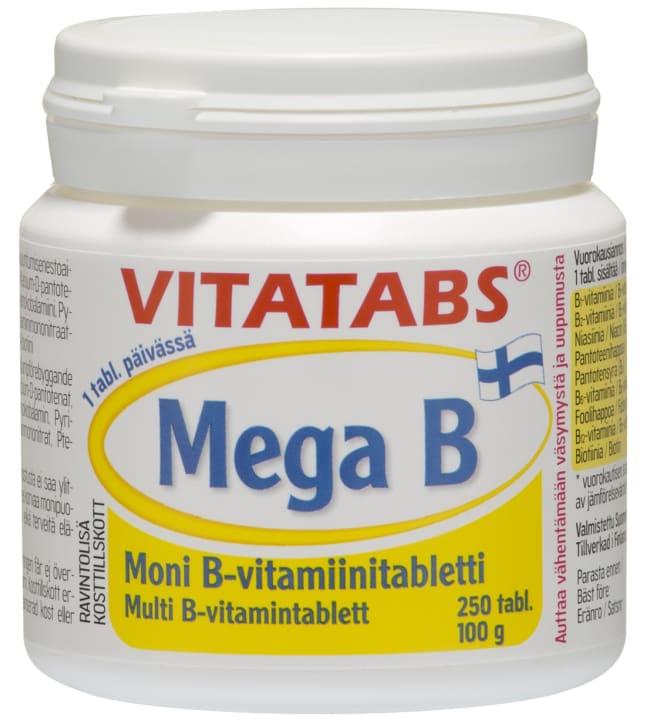 Vitatabs MegaB 250 tabl/100g ravintolisä