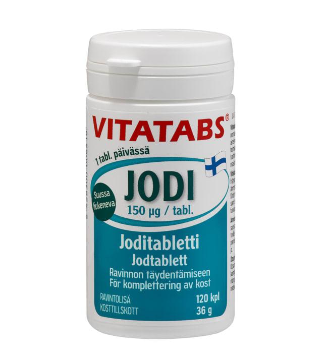 Vitatabs Jodi 150 µg 120 tabl. ravintolisä