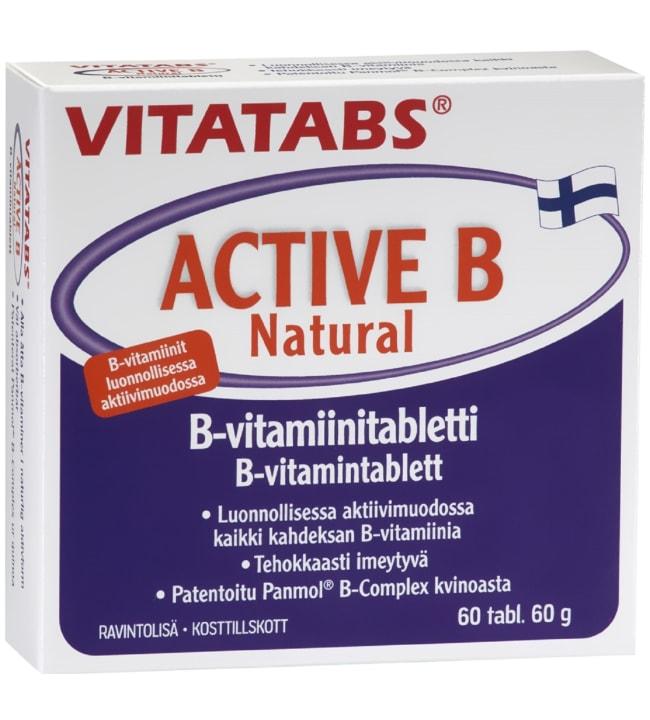 Vitatabs ActiveB 60 kpl B-vitamiini-tabletti