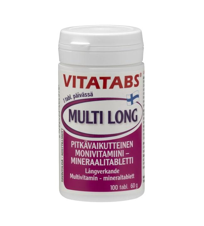 Vitatabs Multi Long 100 tabl. ravintolisä