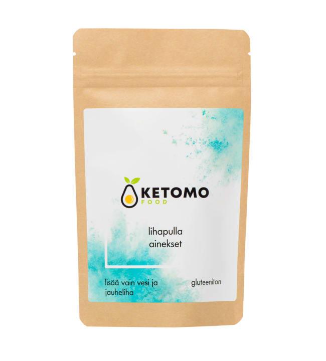 Ketomo Food 60 g lihapulla-ainekset