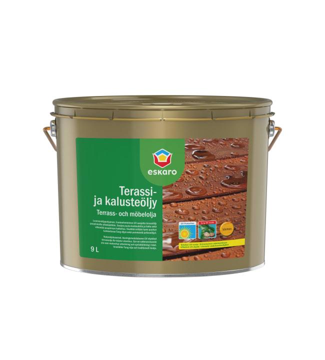 Eskaro kelonharmaa terassi- ja kalusteöljy