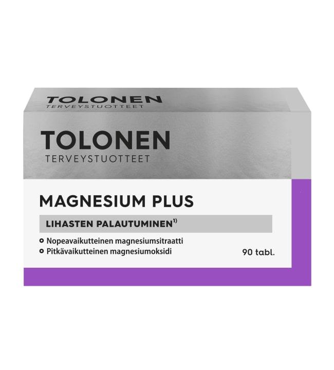 Tri Tolonen Magnesium+ 90 kaps. ravintolisä