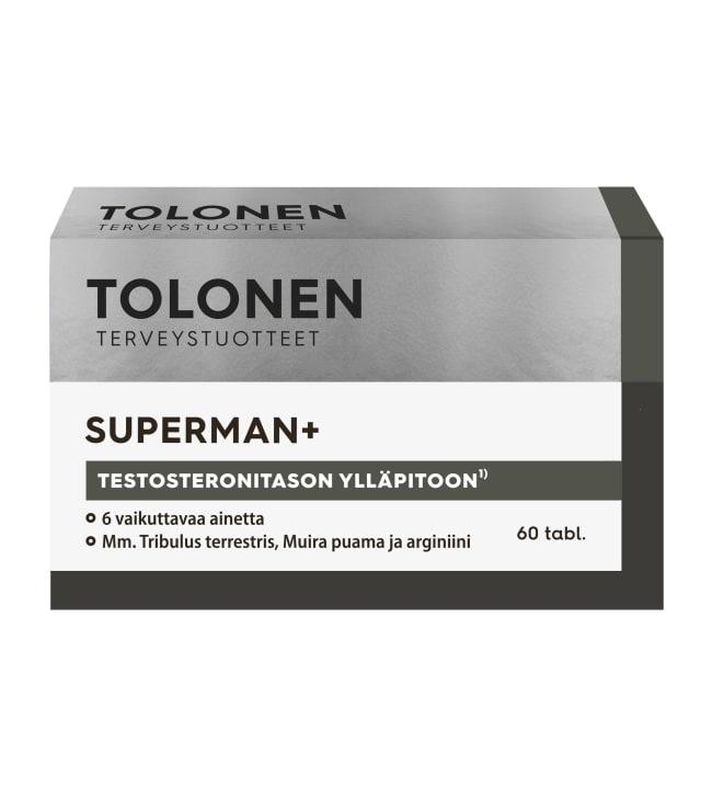 Tri Tolonen Superman 60 tabl. ravintolisä