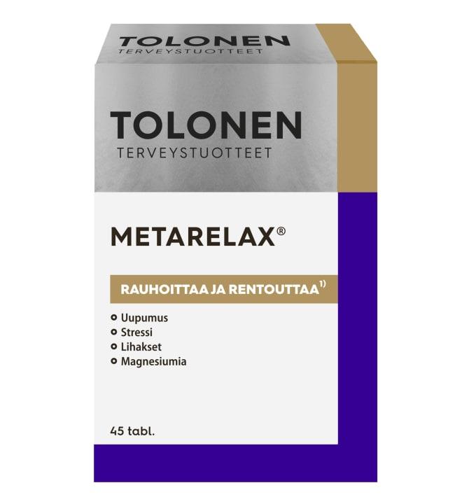 Tri Tolonen Metarelax 45 tabl. ravintolisä