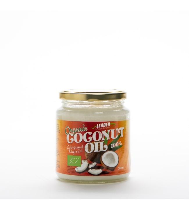 Leader Natural foods 500 ml luomu kookosöljy