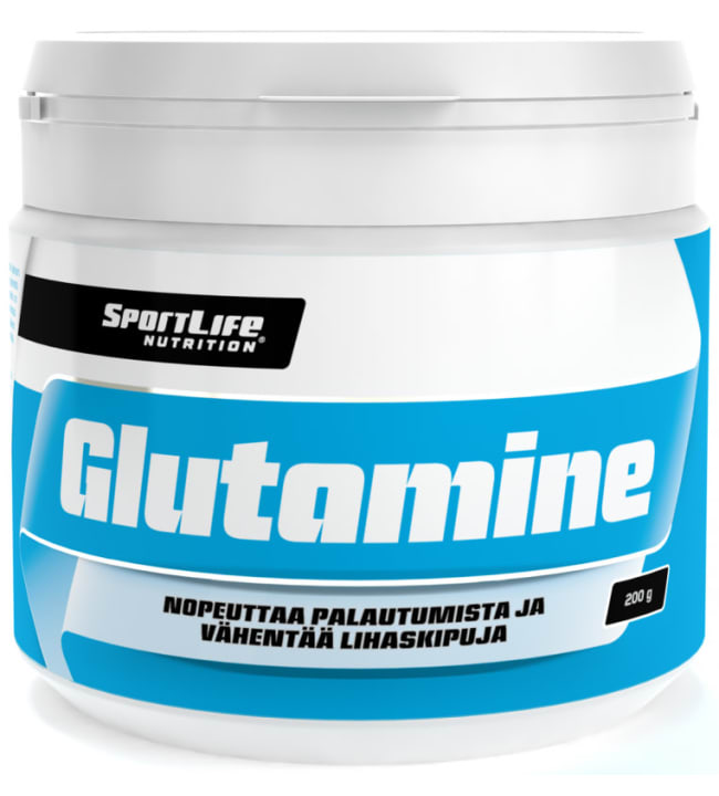 SportLife Nutrition Glutamine 200 g L-glutamiinijauhe