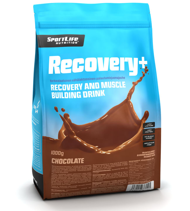 SportLife Nutrition Recovery+ Chocolate 1000 g palautusjuoma