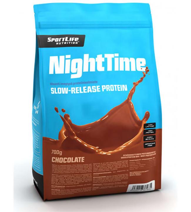 SportLife Nutrition NightTime Suklaa 700 g proteiinijauhe