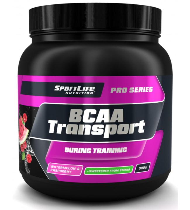SportLife Nutrition BCAA Transport Vadelma-Vesimeloni 300 g aminohappojuomajauhe