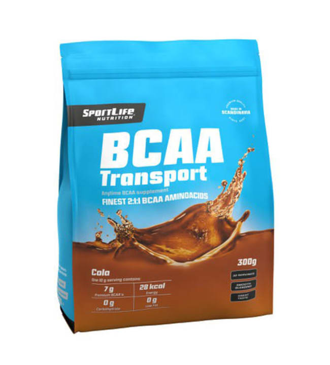 SportLife Nutrition Transport BCAA Cola 300 g aminohappojauhe
