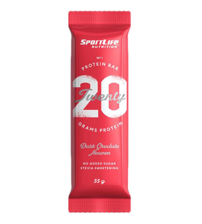 Twenty Protein Bar Dark Chocolate Heaven 55 g proteiinipatukka