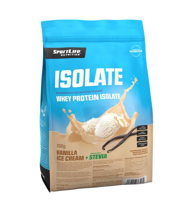 Sportlife Isolate Vanilla Ice Cream 700 g heraproteiini-isolaatti