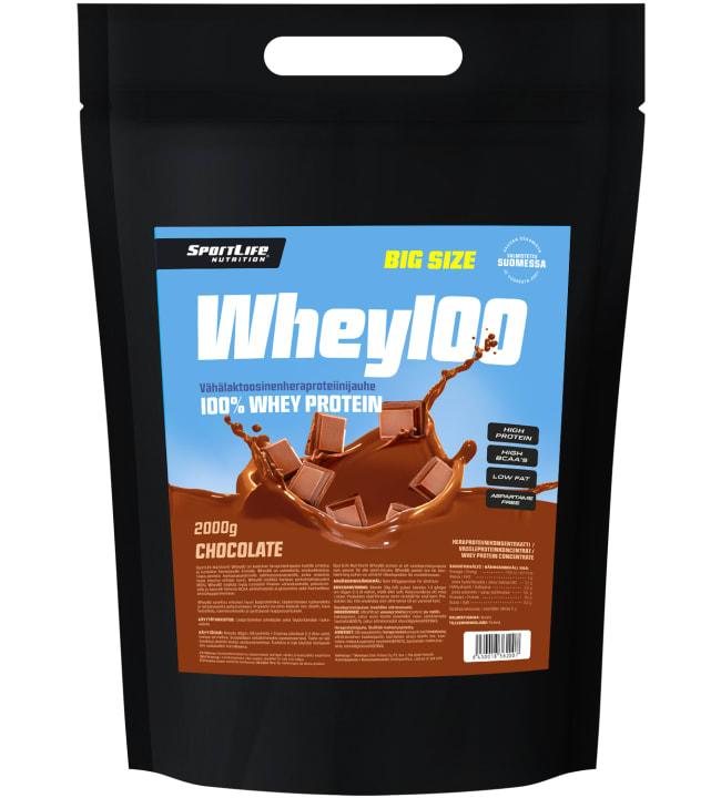 SportLife Nutrition Whey100 Chocolate 2 kg heraproteiini