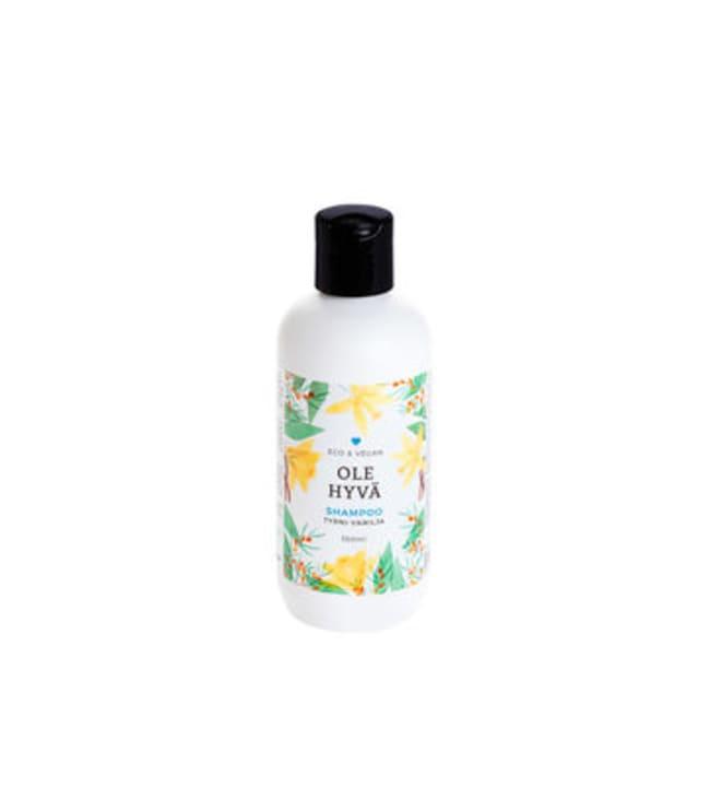 Ole Hyvä Tyrni-Vanilja 350 ml shampoo