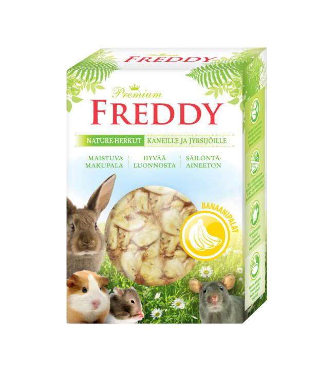Freddy Nature 45 g Banaanipalat