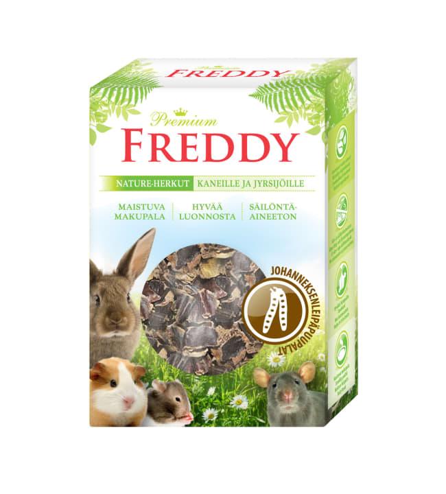 Freddy Nature 60 g Johanneksenleipäpuupalat