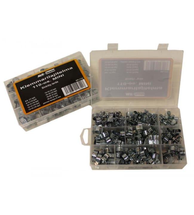 MR-tuote 110-osainen mini klemmarilajitelma