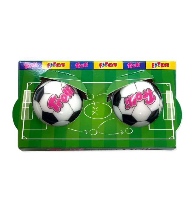 Trolli Jalkapallo 2-pack 38 g jellytäytemakeinen