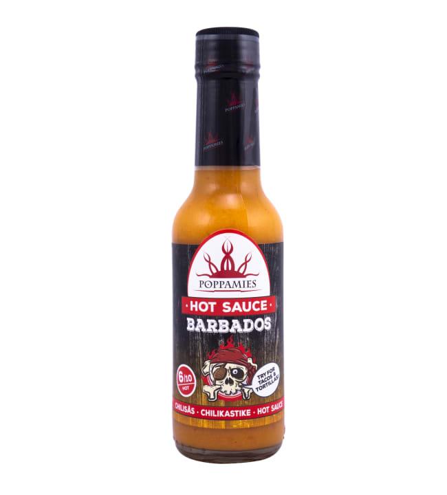 Poppamies Barbados 150 ml sinappinen chilikastike
