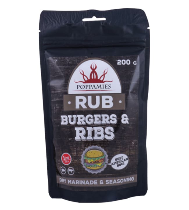 Burger & Ribs 200 g RUB-mausteseos