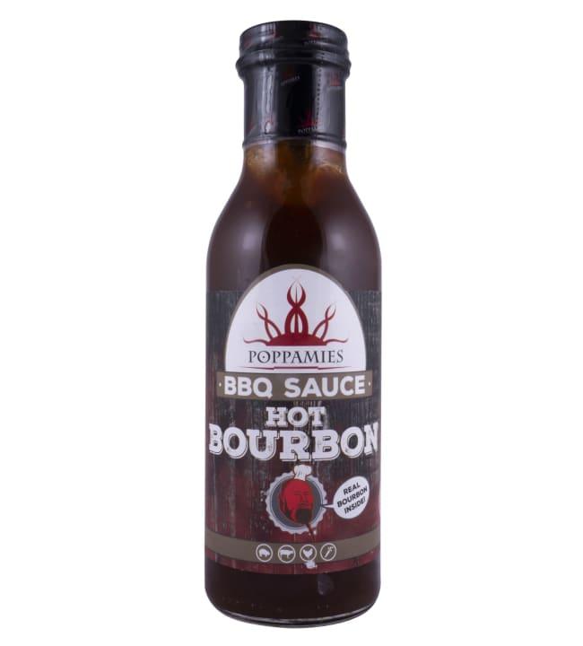 Poppamies Hot Bourbon 410 g grillikastike