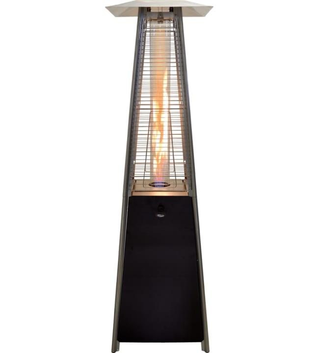 Flame Tower 185 cm musta terassilämmitin
