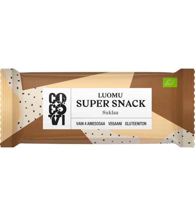 CocoVi SuperSnack Luomu Suklaa 30 g välipalapatukka