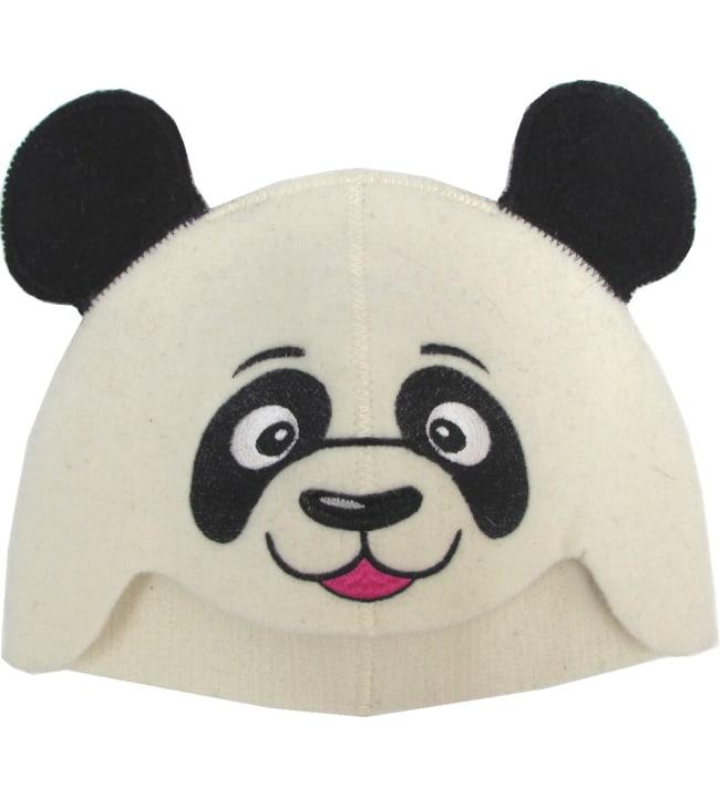 Suomen Tekstiili Huopana Panda saunahattu