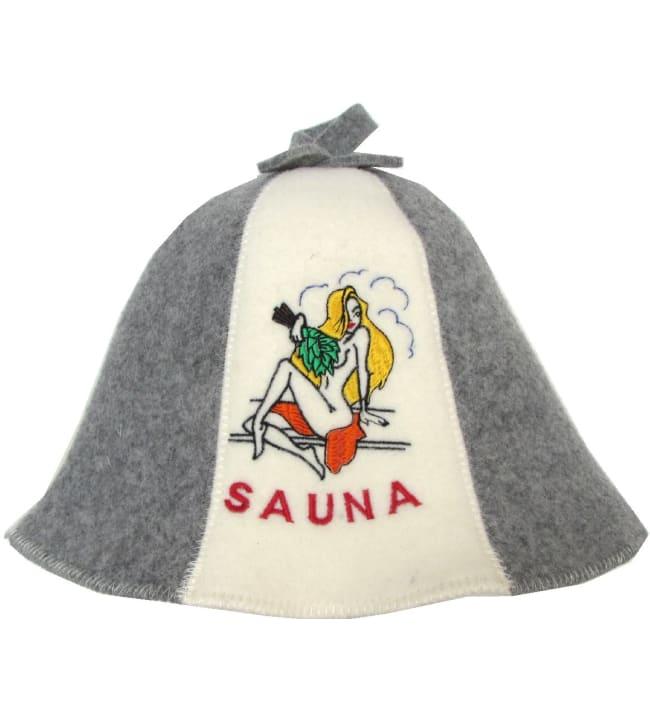 Suomen Tekstiili Huopana Nainen saunahattu