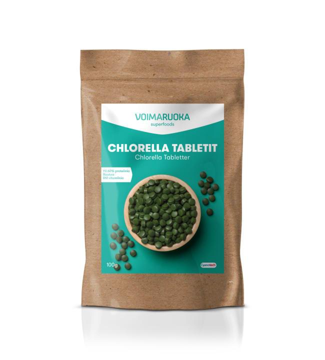 Voimaruoka Chlorella 100 g tabletit