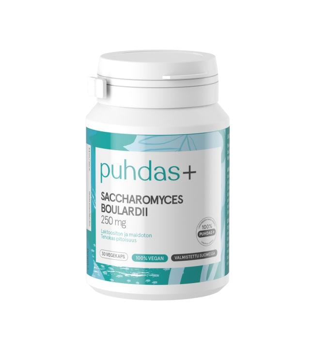 Puhdas+ Caps 250 mg 30 kaps. saccharomyces boulardii