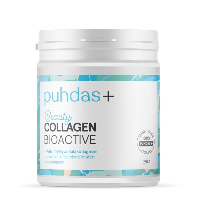 Puhdas+ Beauty Natural 250 g kollageeni