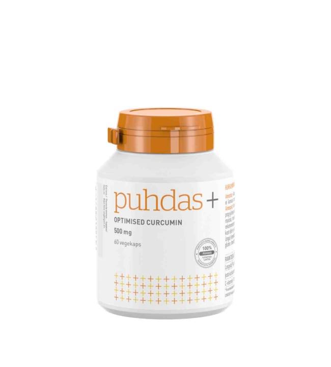 Puhdas + Optimised Curcumin 500 mg 60 kaps. ravintolisä