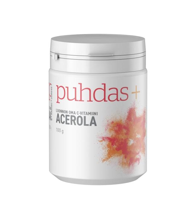 Puhdas+ Acerola 100 g ravintolisä