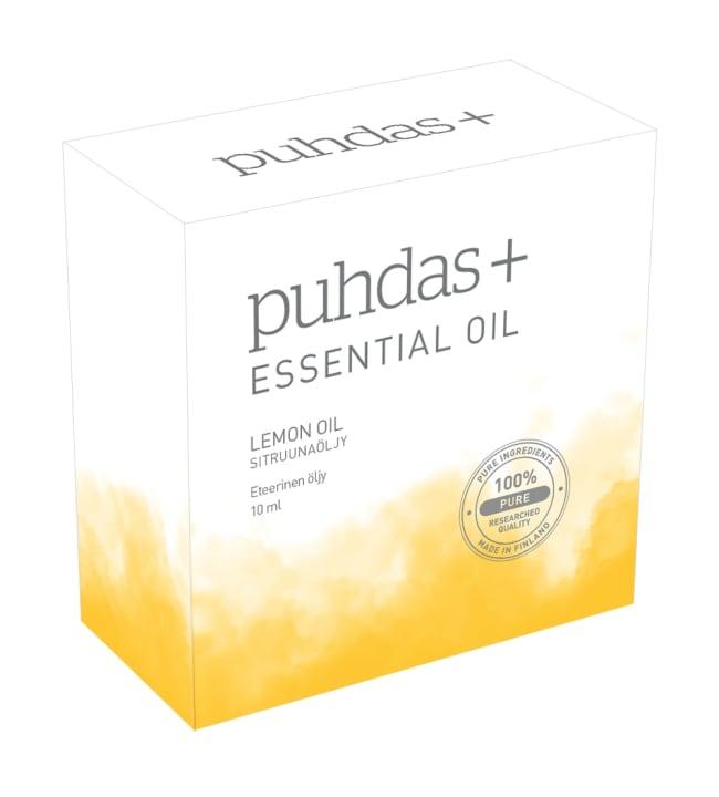 Puhdas+ 100% Sitruuna 10 ml eteerinen öljy
